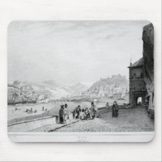 Salzburg, engraved by Bayot & Cuvilier, 1840 Mouse Pad