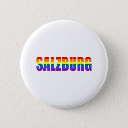 Salzburg Pride 6 Cm Round Badge