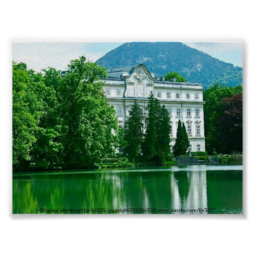 Salzburg sound of music house poster zazzle for Uk house music