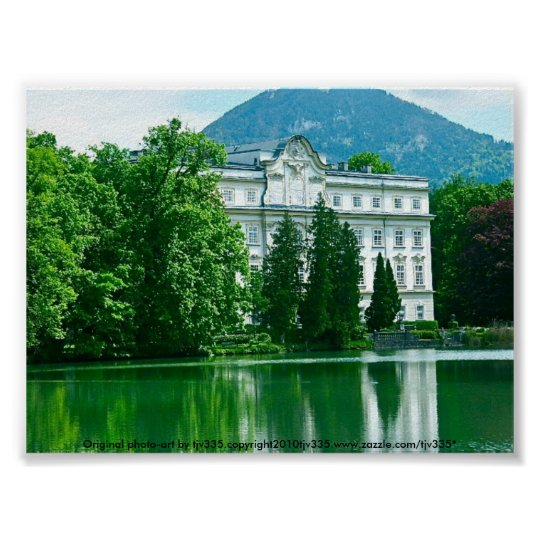 Salzburg Sound of Music house Poster