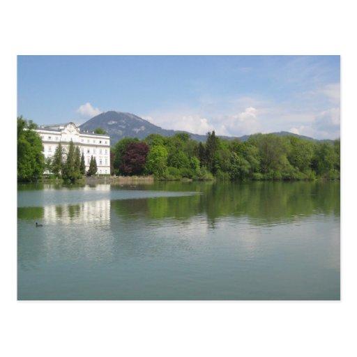 Salzburg-von Trapp mansion Post Cards