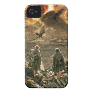 Sam and FRODO™ Approaching Mount Doom iPhone 4 Covers