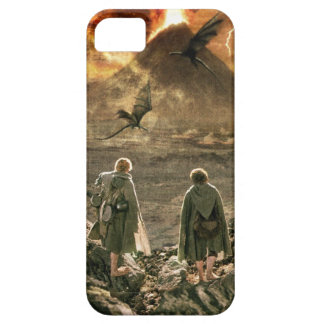 Sam and FRODO™ Approaching Mount Doom iPhone 5 Covers