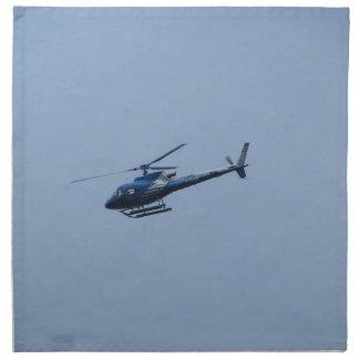 SAM Ecureuil Helicopter Napkin