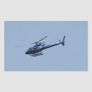 SAM Ecureuil Helicopter Rectangular Sticker