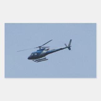 SAM Ecureuil Helicopter Rectangular Sticker