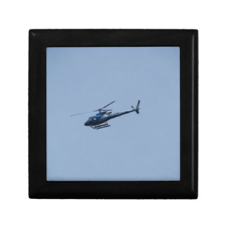SAM Ecureuil Helicopter Small Square Gift Box