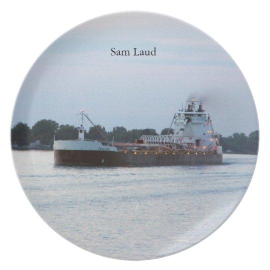 Sam Laud plate