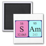 Sam periodic table name magnet