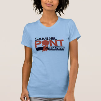 sam pont training womens t shirt