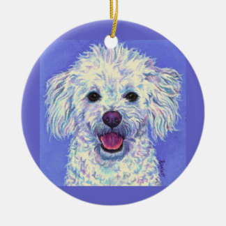 """Sam"" Poodle Mix - Ornament"
