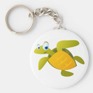 Sam The Sea Turtle Keychain