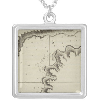 Samaganooda Harbour, Alaska Silver Plated Necklace