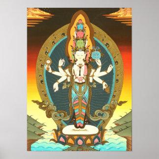 Samantamukha Avalokiteshvara Poster