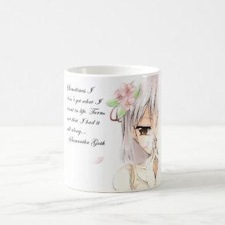 Samantha Goth Anime Quote Mug