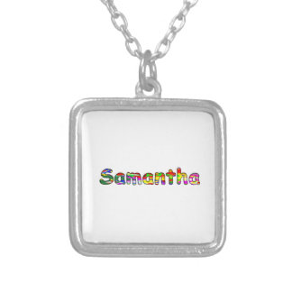 Samantha Silver Plated Necklace