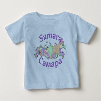 Samara City Russia Map Baby T-Shirt