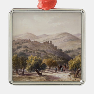 Samaria, engraved by Jean Jacottet Christmas Ornament