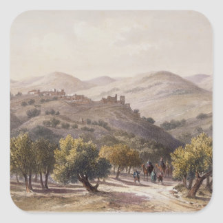 Samaria, engraved by Jean Jacottet Square Sticker
