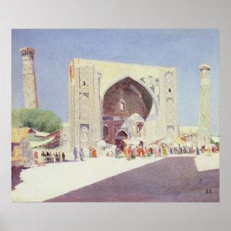 Samarkand, 1869-71 poster