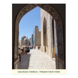 Samarkand, Nekropole shah i Sinda in Uzbekistan Postcard