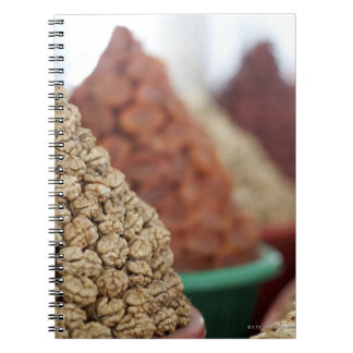 Samarkand, Uzbekistan. Nuts and apricots for Notebooks