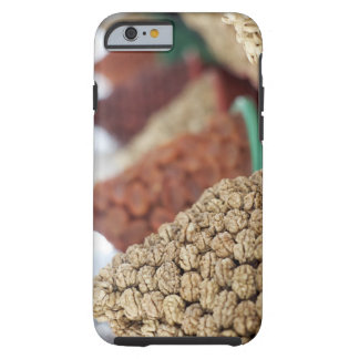 Samarkand, Uzbekistan. Nuts and apricots for Tough iPhone 6 Case