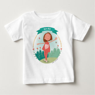 Samarreta Bon day! Baby T-Shirt