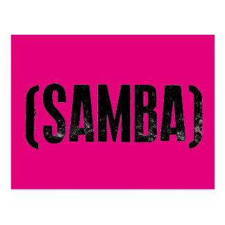samba mood postcard