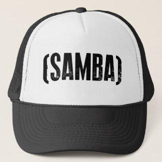 samba mood trucker hat