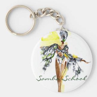 Samba School Keychain