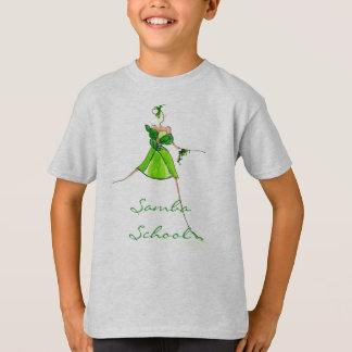Samba school kids t-shirt