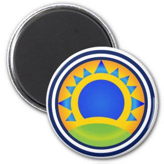 Samba Sunrise Magnet
