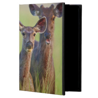 Sambar Deers in the meadows, Corbett National Park iPad Air Cases