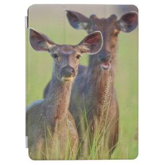 Sambar Deers in the meadows, Corbett National Park iPad Air Cover