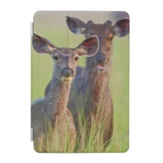 Sambar Deers in the meadows, Corbett National Park iPad Mini Cover