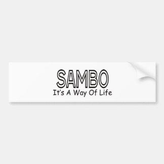 Sambo It s A Way Of Life Bumper Sticker