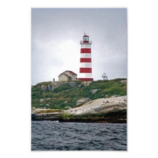 Sambro Island Lighthouse Photograph