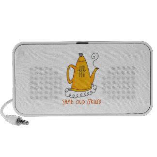 SAME OLD GRIND iPod SPEAKERS