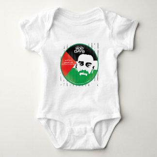 Samer al Issawi hunger strike Baby Bodysuit