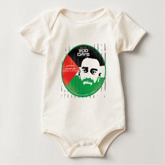 Samer al Issawi hunger strike Baby Bodysuits