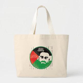 Samer al Issawi hunger strike Jumbo Tote Bag