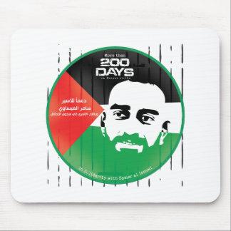 Samer al Issawi hunger strike Mouse Pad