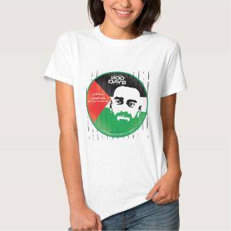 Samer al Issawi hunger strike Tee Shirt