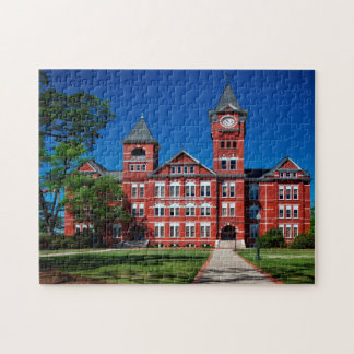 Samford Hall University Alabama. Jigsaw Puzzle