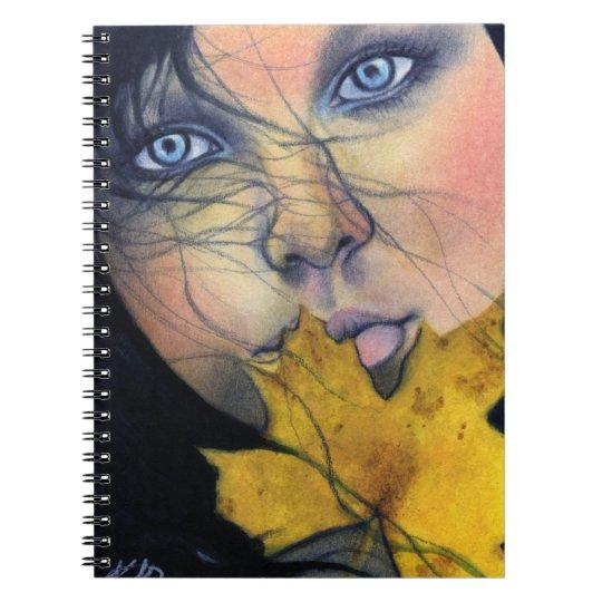 Samhain fairy beauty Notebook