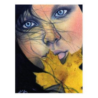 Samhain fairy beauty Postcard