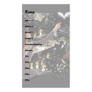Samhain Mystique! Business Card Template