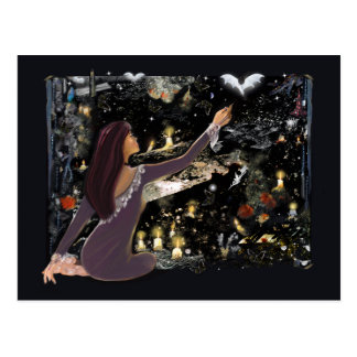 Samhain Mystique! Postcard