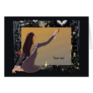 Samhain Mystique Template! Greeting Card